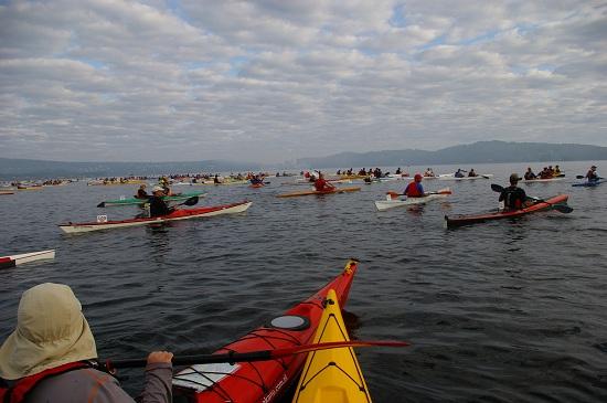 Trasa ma d�ugo�� 55 km w trakcie kt�rych pokonuje si� trzy przenoski. Miejsce startu znajduje si� na jeziorze Laxsjon co pozwala unikn�� t�oku w�r�d tak du�ej grupy kajakarzy. Akwen jest dostatecznie szeroki daj�c gwarancj� kulturalnego rozpocz�cia wy�cigu.